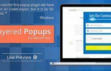 افزونه پاپ آپ حرفه ای Layered Popups نسخه 4.80