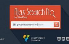 افزونه جستجوگر آژاکس Ajax Search Pro نسخه 4.5.3