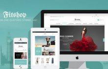 دانلود قالب وردپرس فروشگاهی فیت شاپ | Fit Shop