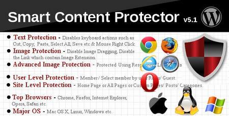 افزونه حرفه ای جلوگیری کپی از متن و تصاویر Smart Content Protector