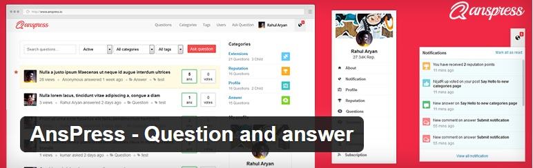 ساخت سیستم پرسش و پاسخ با AnsPress1