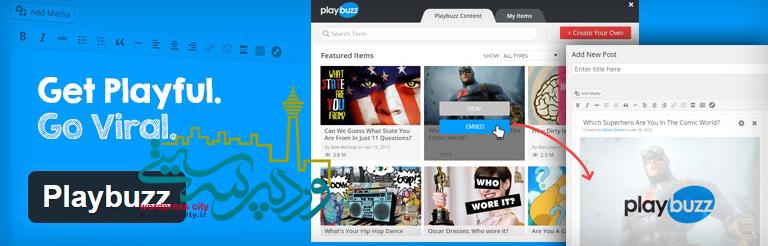 ساخت محتوای سفارشی و جذاب با playbuzz1