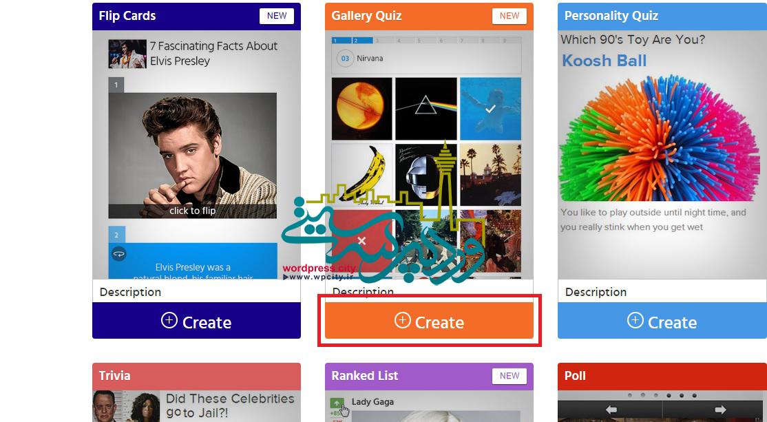 ساخت محتوای سفارشی و جذاب با playbuzz11