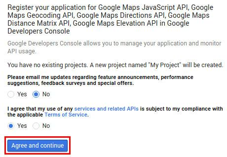 شرایط و قوانین استفاده از سرویسهای گوگل