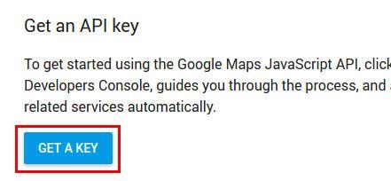 دریافت API نقشه گوگل