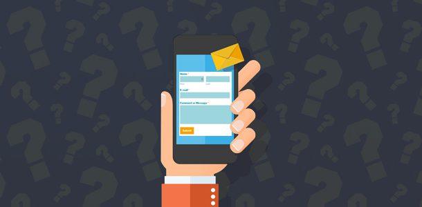 چرا به ساخت فرم تماس با ما در وب سایت خود نیاز دارید